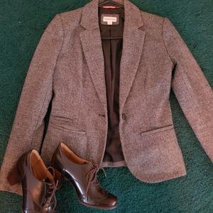 Merona tweed blazer